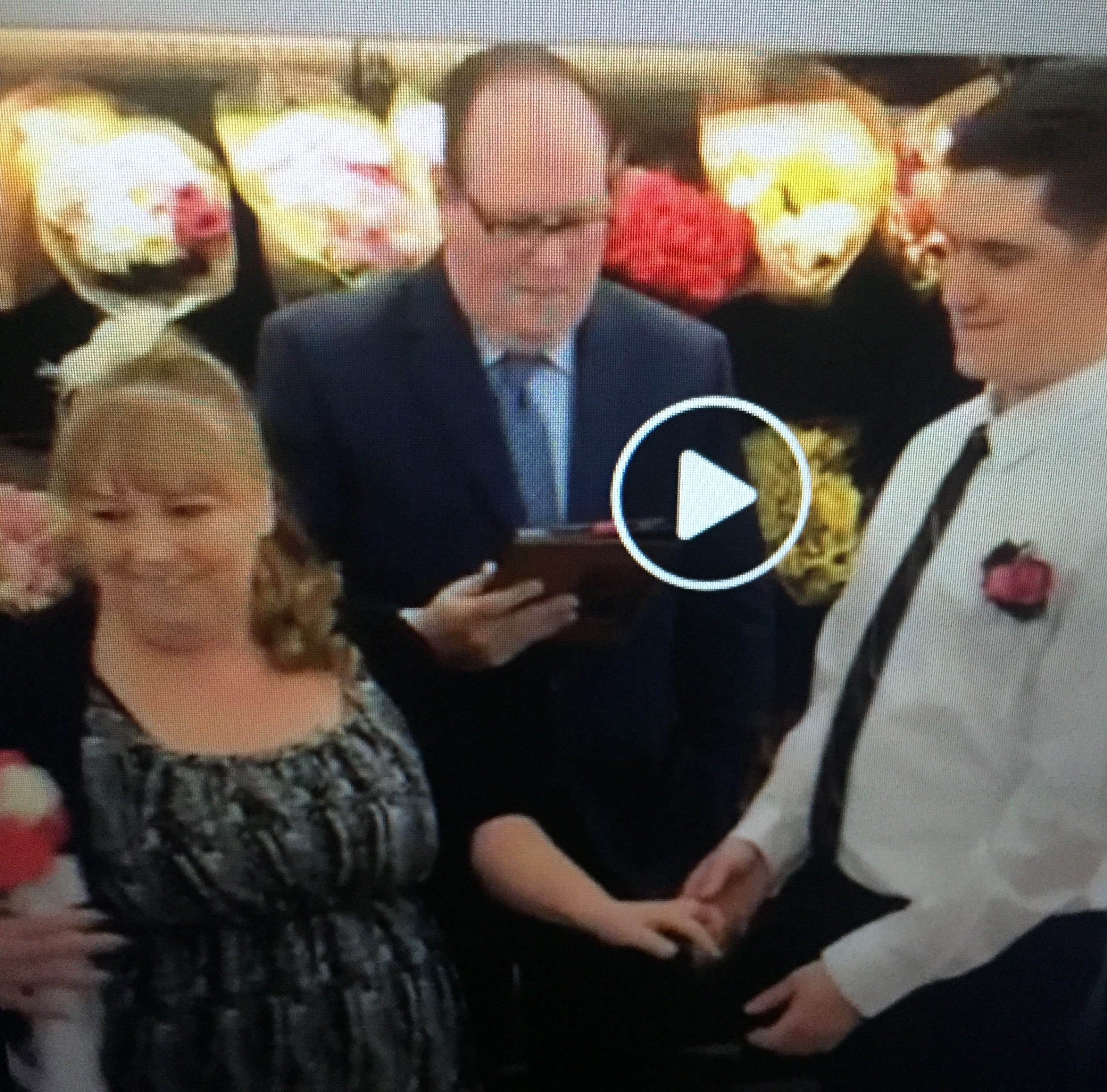Vermont Valentines get married at Berlin Walmart