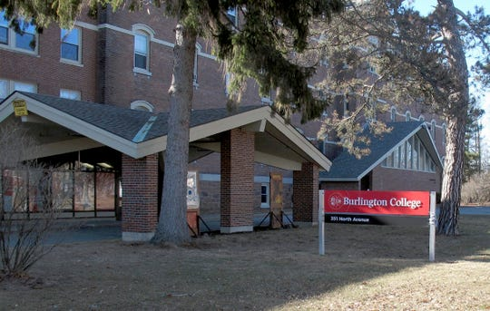 FILE - This Feb. 22, 2015 file photo shows a building on the campus of Burlington College in Burlington, Vt. The college folded in 2016, one of several private colleges that have closed due to financial pressure. Officials in New England have been looking into increasing their oversight of the schools to help protect students.