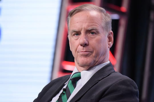 "In this July 29, 2016, file photo, Howard Dean participates in ""The Contenders: 16 for 16"" panel during the PBS Television Critics Association summer press tour in Beverly Hills, Calif. Dean is back. The one-time presidential candidate and former Democratic National Committee chairman is set to return to party prominence the head of a new data operation that Democrats hope puts them back on par with Republicans in the never-ending race to maximize the use of voter data to coax Americans to the polls."