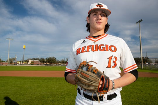 Refugio pitcher Jared Kelley