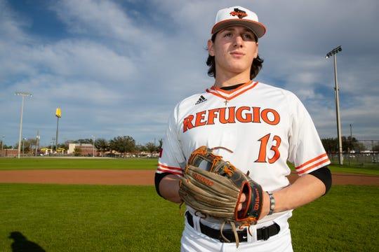 Refugio pitcher Jared Kelley