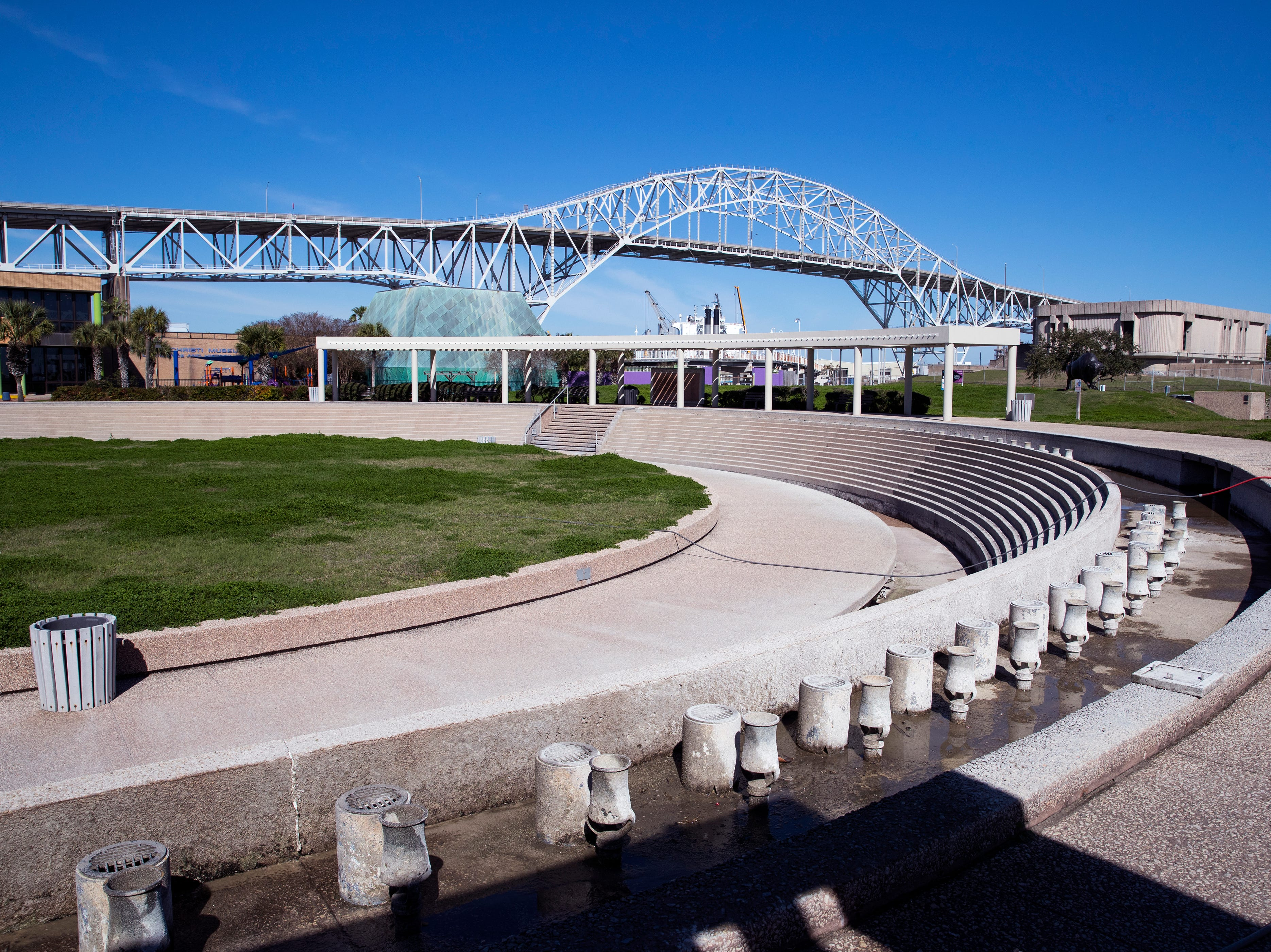 The Corpus Christi Watergarden has been inoperable since Hurricane Harvey made landfall in Aransas County in August 2017, and city officials are still trying to identify how to pay for repairs to the downtown destination.