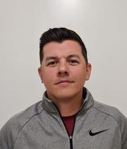 New Mathis head football coach/athletic director Trae Stevens.