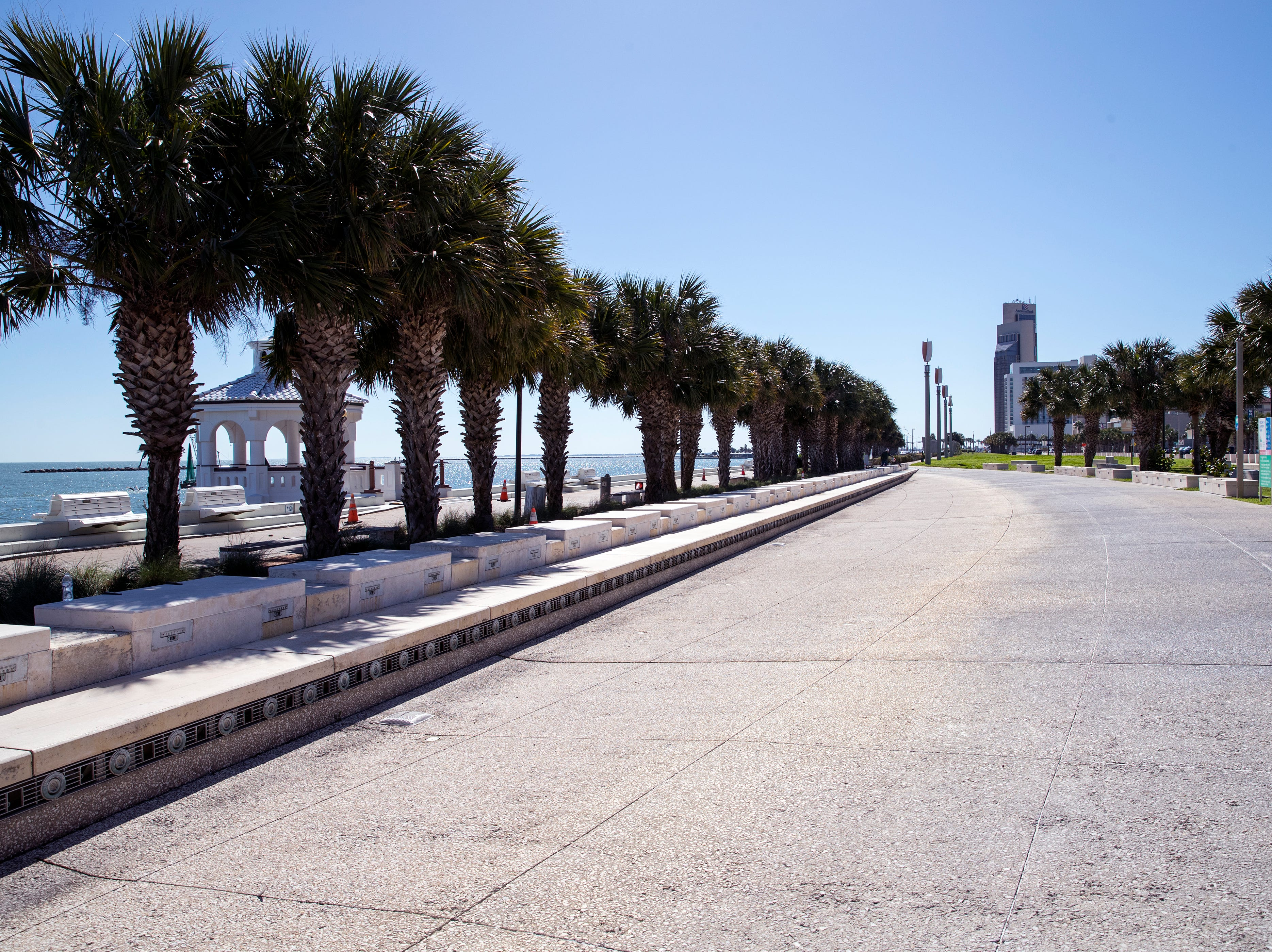Corpus Christi officials are trying to figure out how to pay for repairs to the Bayfront Park Fountain in the downtown area. The fountain and its wind turbines are currently inoperable.