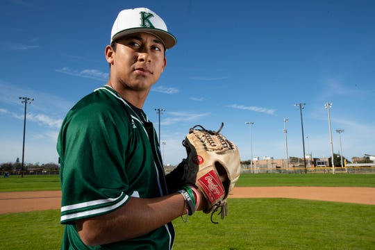 King HS pitcher Jon Barrera