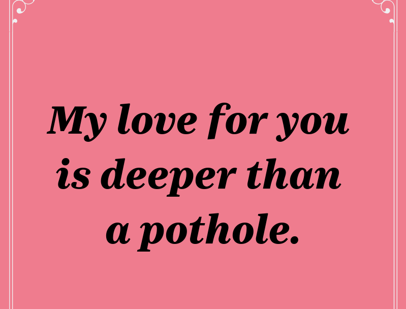 Happy Valentine's Day, Cincinnati! We made some cards just for you. Share this one with your poor car.