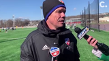FC Cincinnati head coach Alan Koch discusses the team's trip to the Carolina Challenge Cup and its acquisition of forward Kekuta Manneh.
