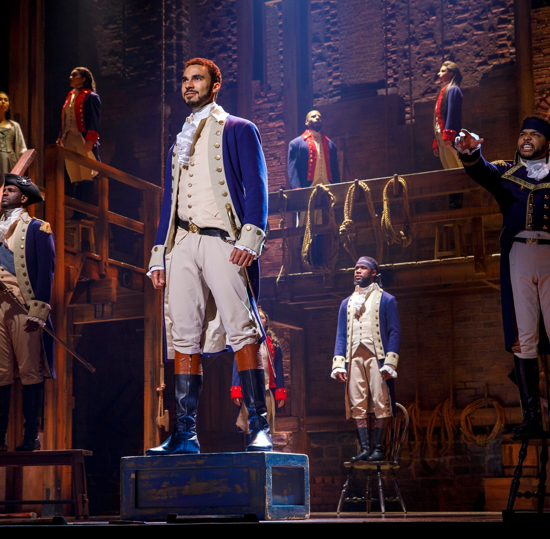 Out of 60,000+ 'Hamilton' seats, how many were left unsold?