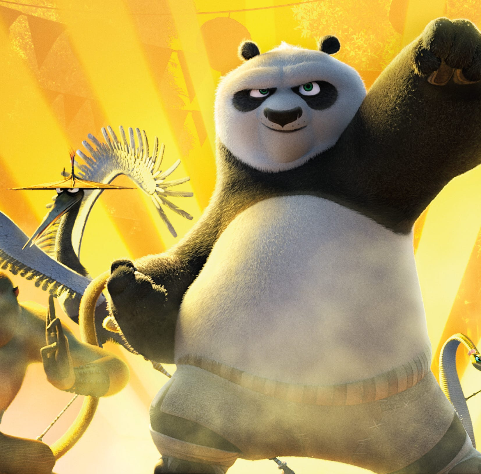 Music and clips from Kung Fu Panda will be one of...