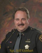 Sgt. Jeff Gebhart