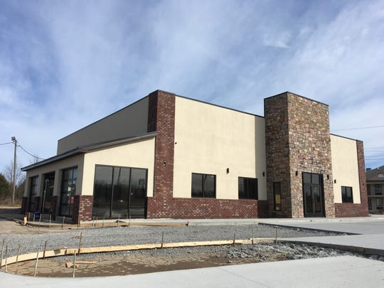 The Mexican restaurant under construction on Martin Luther King Jr. Parkway in Clarksville on Wednesday, Feb. 13, 2019.