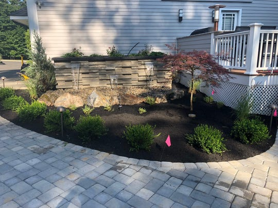 One of the exhibitors at the New Jersey Home Show, landscaping and hardscaping contractor John Balaney of Balaney Contracting of Stewartsville reveals some before and after images of projects.