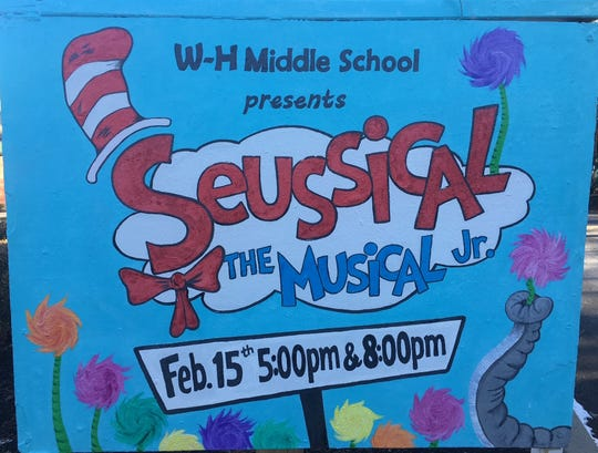 """The Wardlaw+Hartridge School in Edison will present its second Middle School Musical,""""Seussical Jr.,""""with performances at 5 and 8 p.m. on Friday, Feb. 15."""
