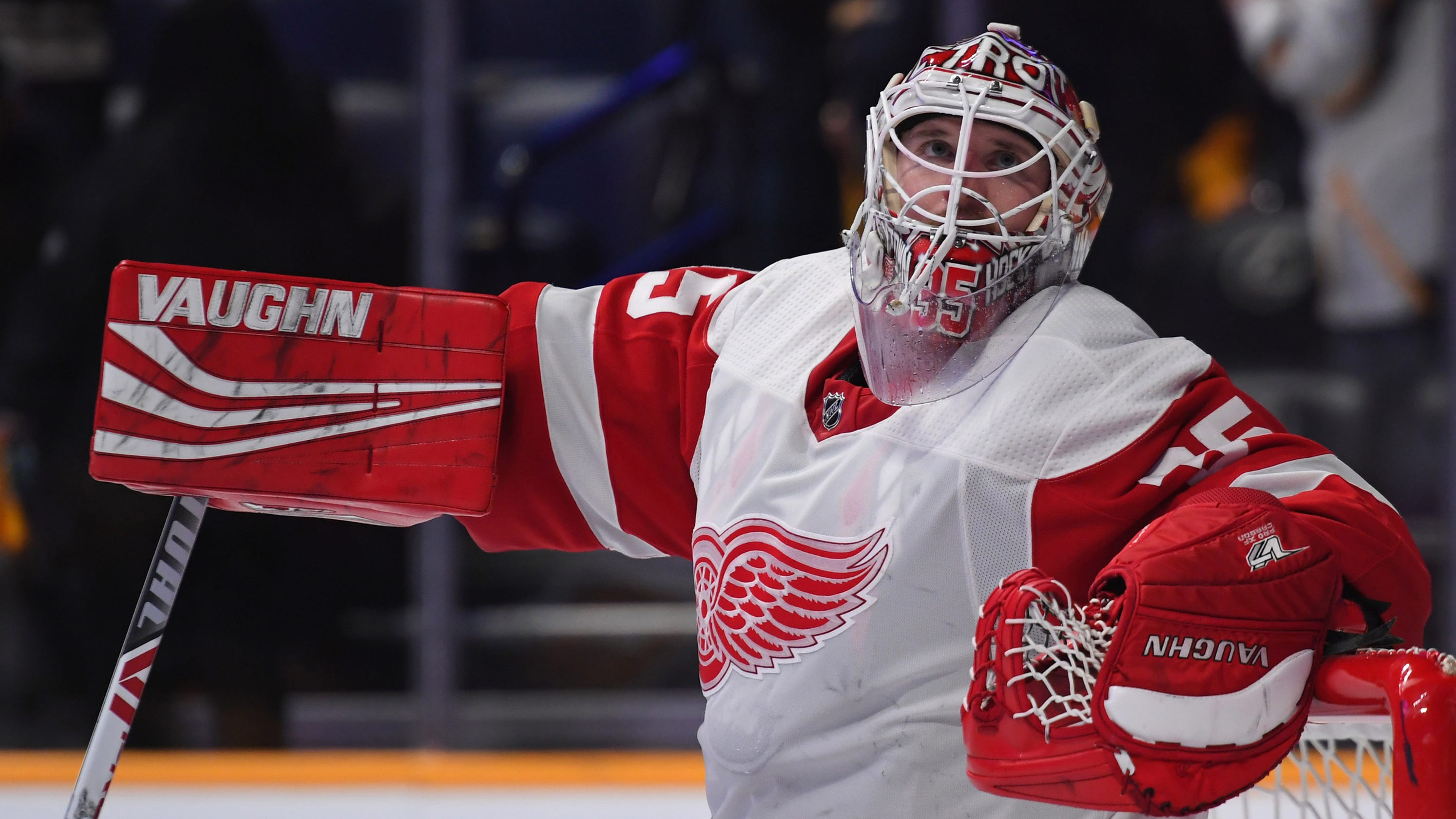 the best attitude ec24b bbac9 How Detroit Red Wings' Jimmy Howard revived his career