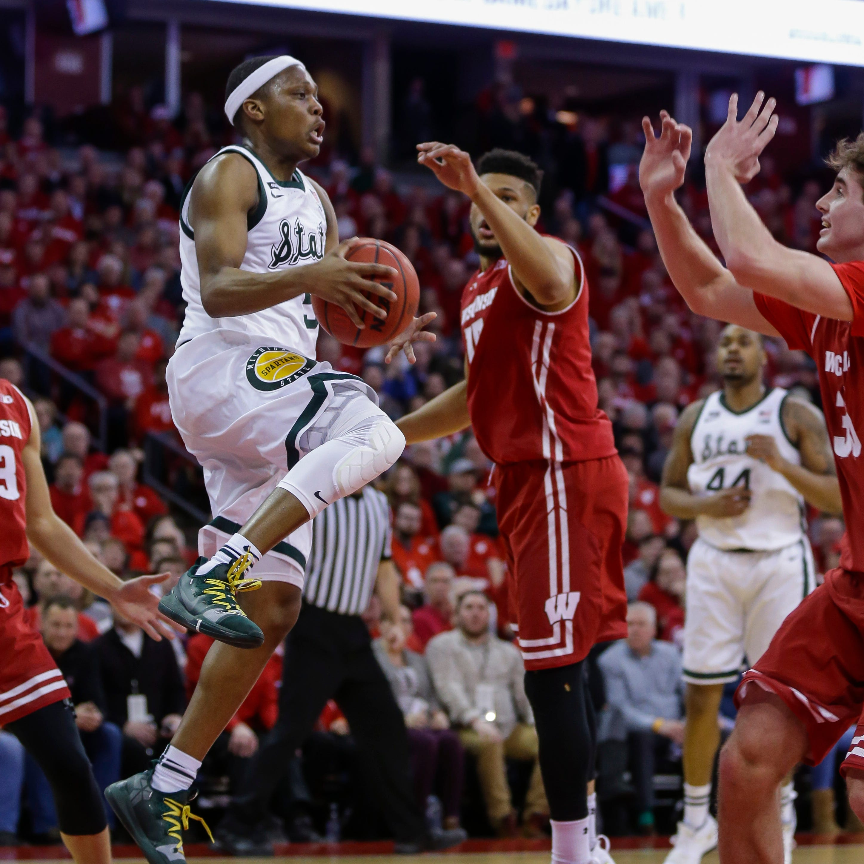 How Michigan State basketball grabbed crucial win at Wisconsin, 67-59