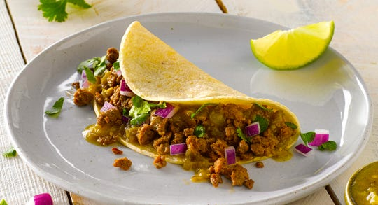 The Impossible Taco will be available for a limited time at 60-plus Qdoba locations in Michigan.