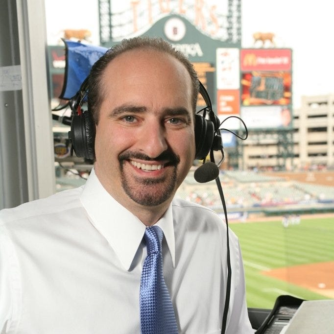 Good for Mario Impemba, but come on Red Sox, stop stealing our Tigers