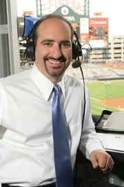 Mario Impemba at Comerica Park.