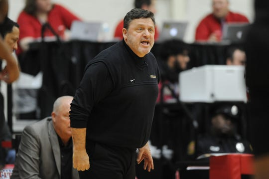 """Greg Kampe has regrets about his team's record in Motor City Madness: """"Personally, I've always felt our lack of success in the tournament, I think, hurt it. I feel half to blame it didn't work here. A couple more wins by us and I'm sure they would've made a lot more money. I feel bad about that."""""""