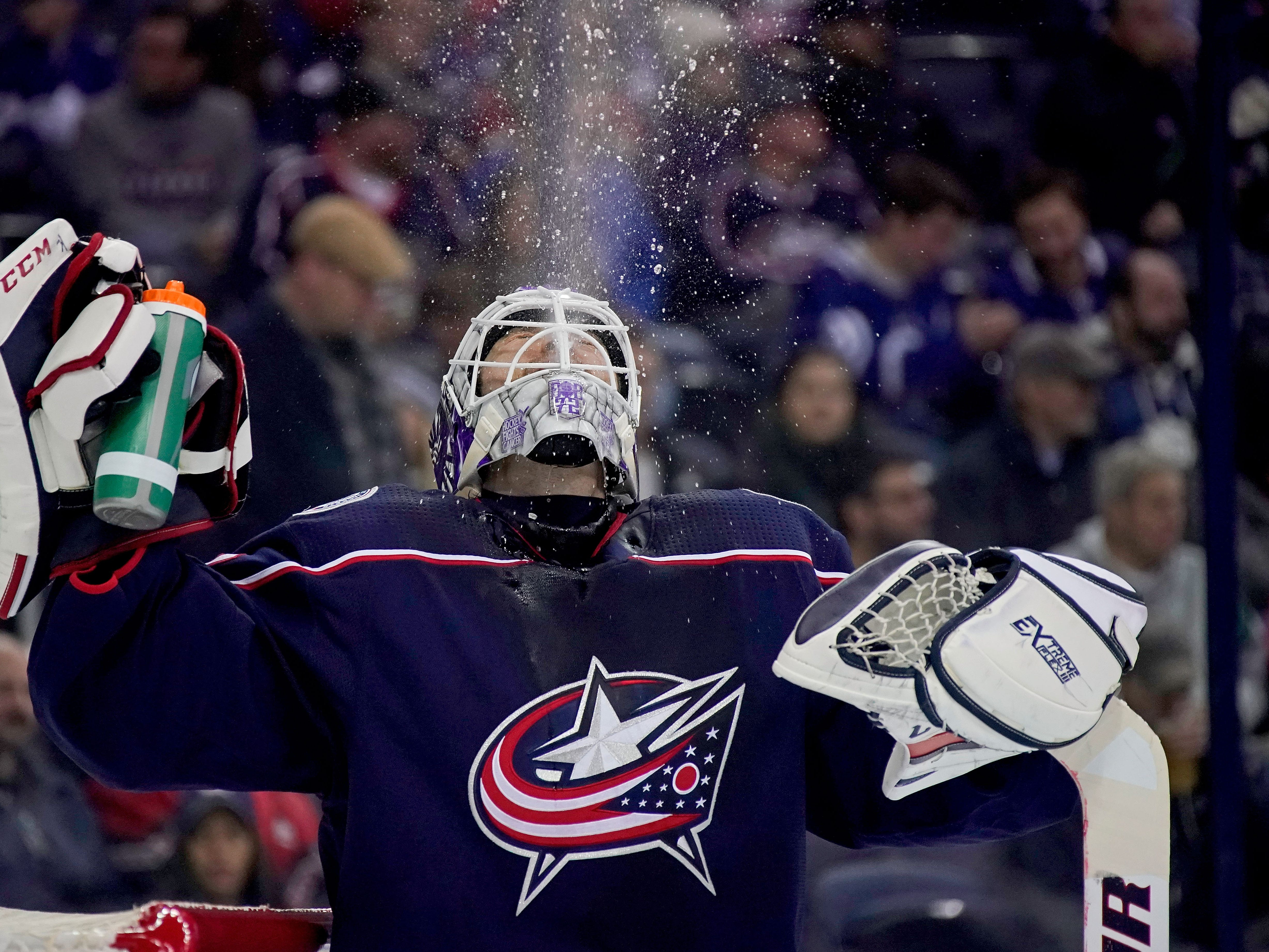 5. Sergei Bobrovsky, G, Columbus: Like his buddy Panarin, Bobrovsky isn't re-signing in Columbus. So what do the Jackets do? They're squarely in the playoff hunt and no playoff contender currently needs goaltending.