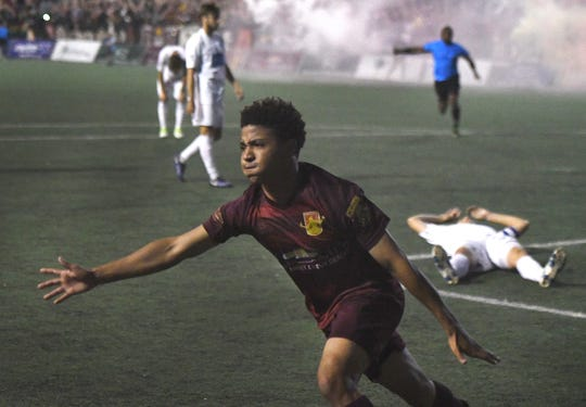 Tyrone Mondi and Detroit City FC will square off against Michigan State in a preseason friendly April 20 at The Corner Ballpark in Detroit.