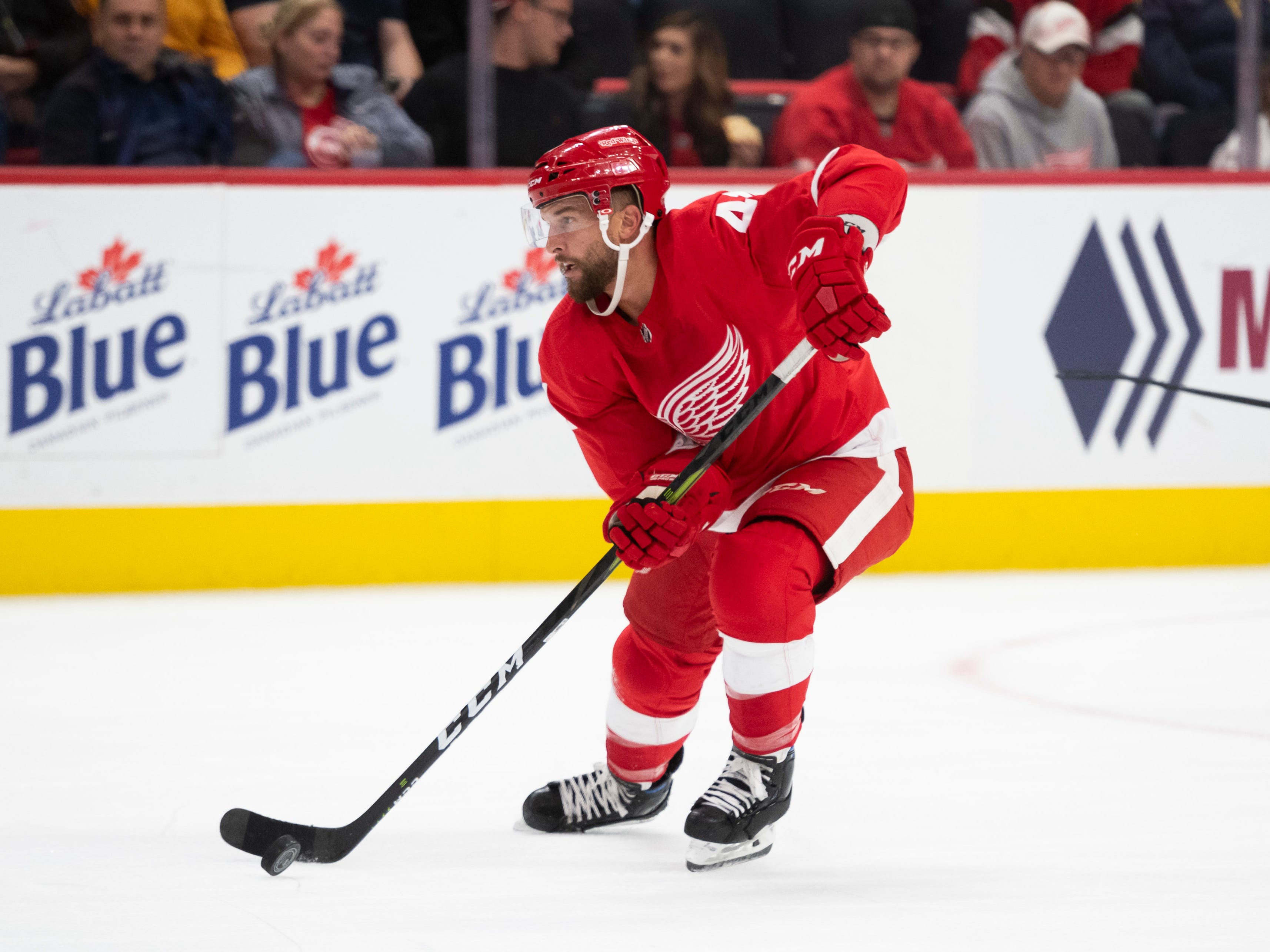 14. Luke Glendening, C, Detroit: The Wings aren't going to give him away because Glendening has term left and doesn't break the bank. But Toronto, especially, is interested in this defensive-forward demon.