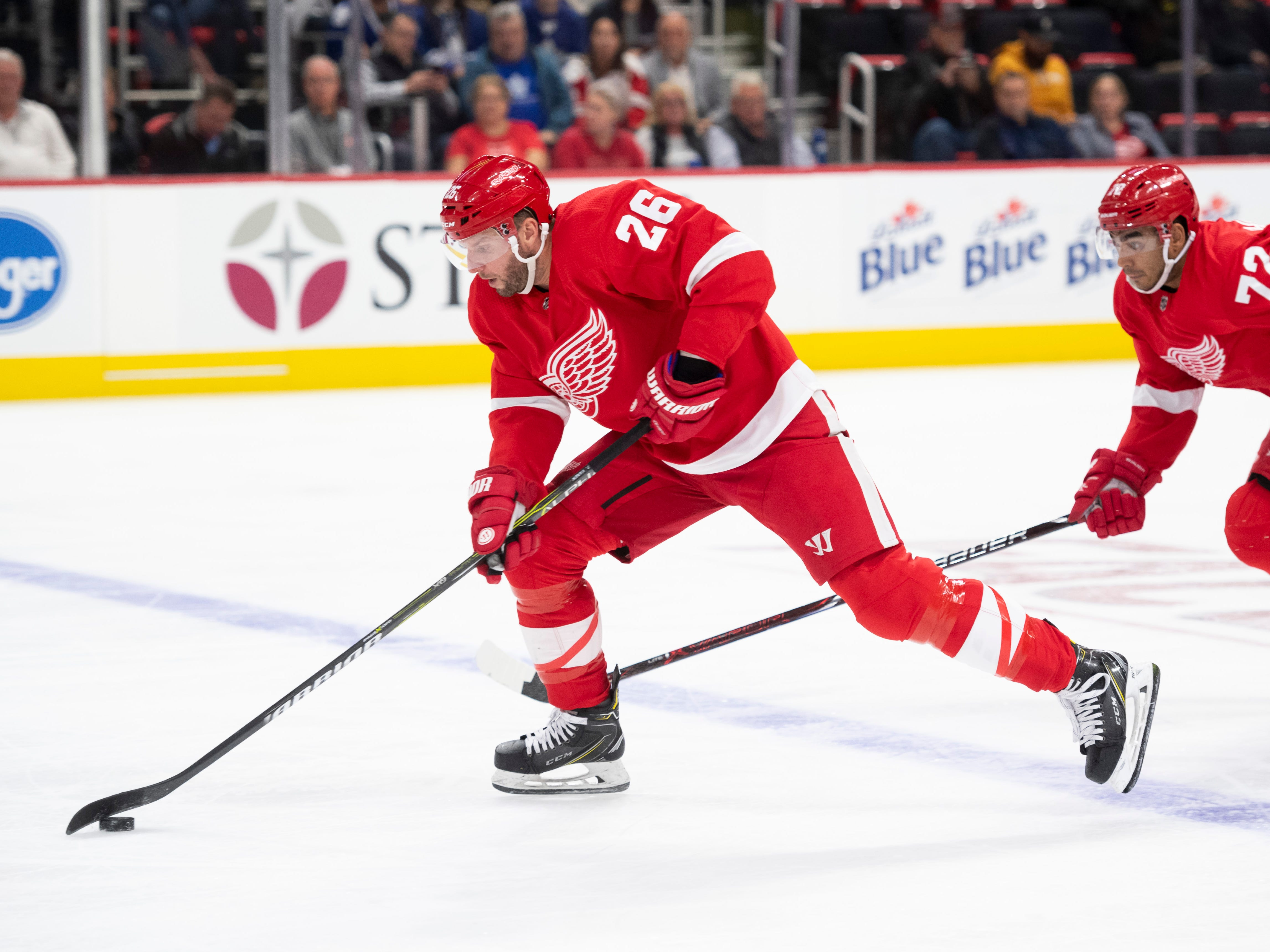 20. Thomas Vanek, LW, Detroit: Vanek's name seemingly always appears on this list at this time of year. The fact Vanek is now healthy and heating up offensively could interest a contender lacking offensive depth.
