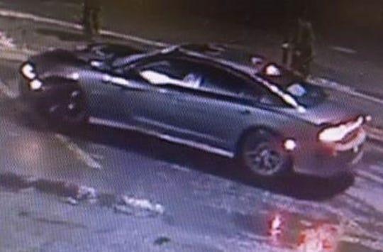 Thegray 2018 Dodge Charger SRTthat struck Randy Menendez.