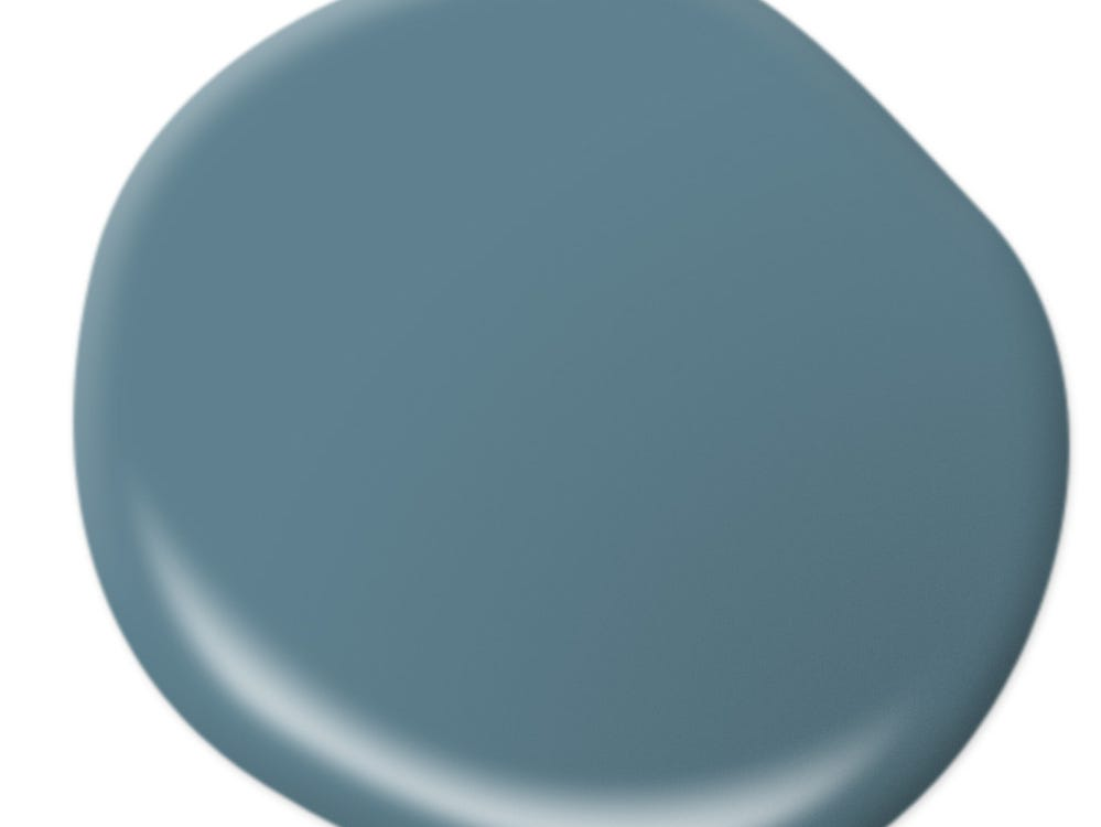 Blueprint is Behr's Color of the Year for 2019.