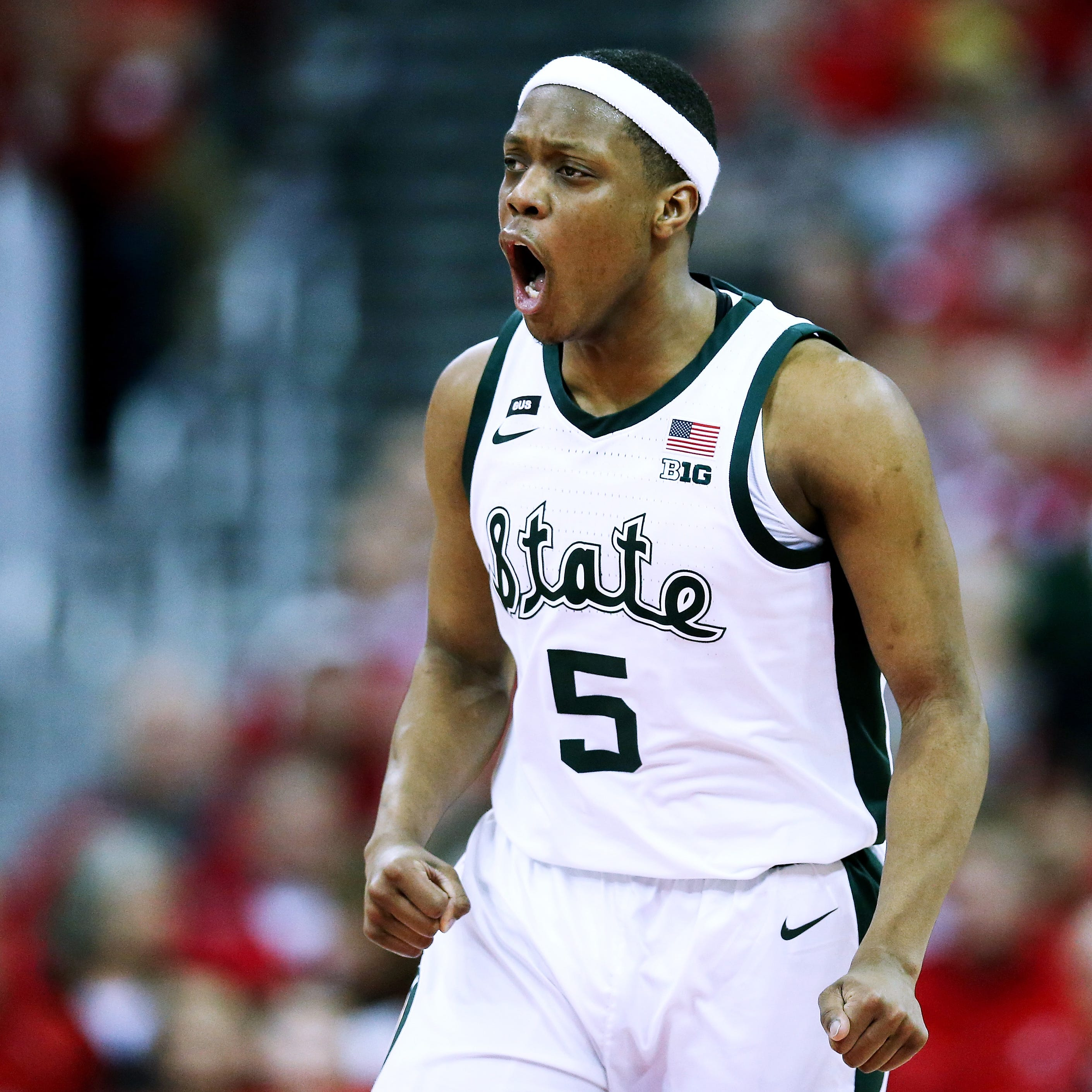 'It was a war': No. 11 Michigan State claws way to road win over No. 20 Wisconsin