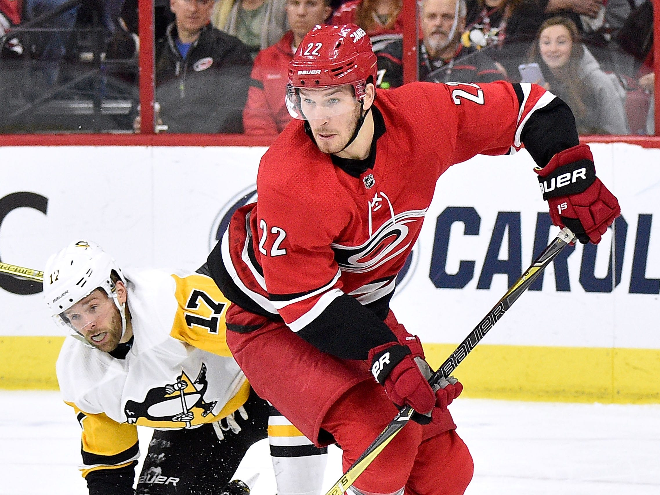 12. Brett Pesce, D, Carolina:  With a roster overloaded with fine defensemen, the Hurricanes will get calls. But Pesce wouldn't come cheaply; the Hurricanes likely will want a young forward in return.