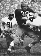 Dick Kempthorn was named MVP of the 1949 Michigan team.