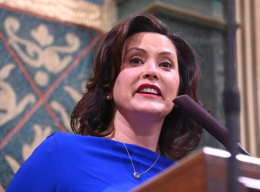 State of the State: Whitmer vows to tackle road, education 'crises'