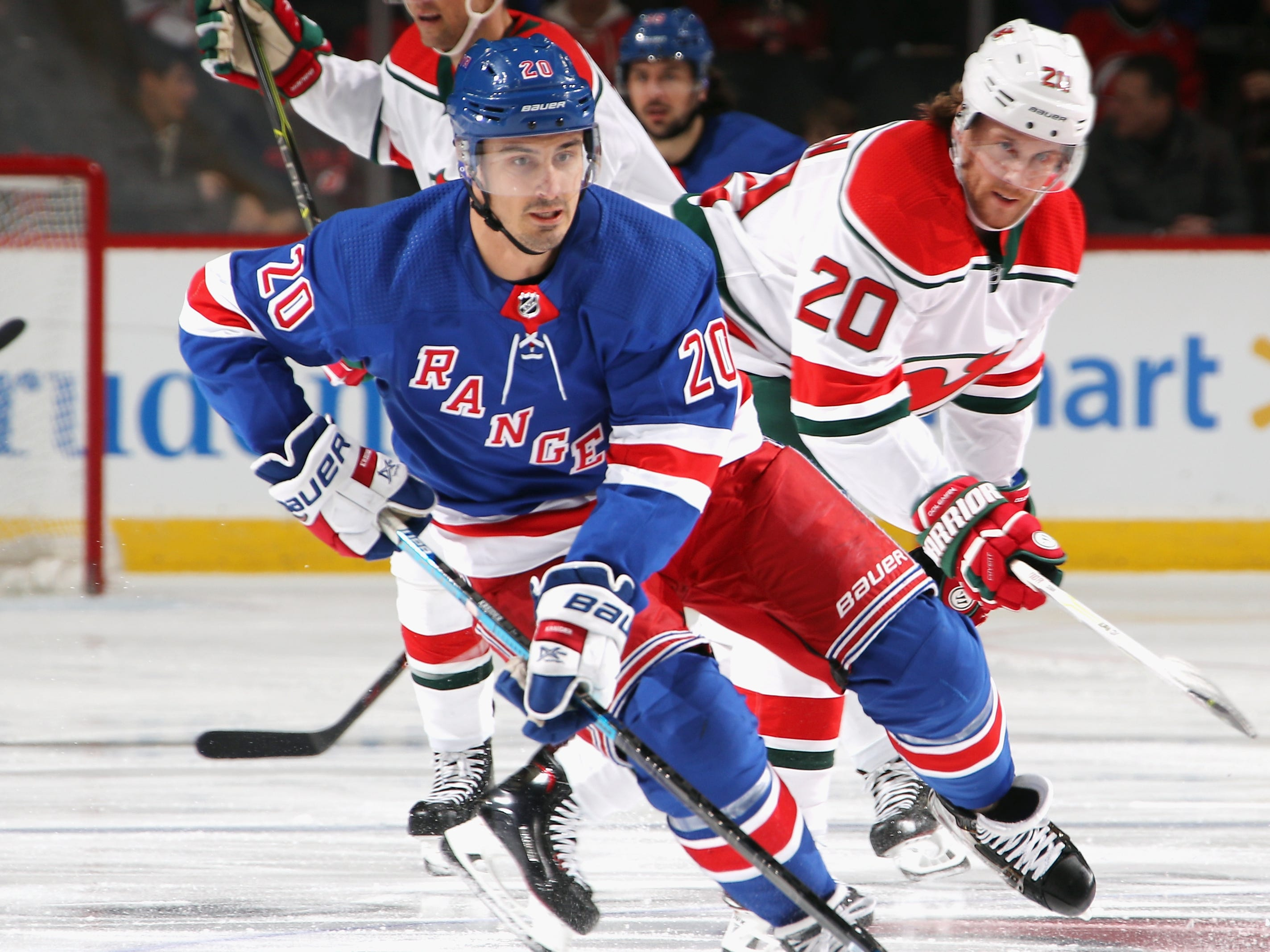 7. Chris Kreider, LW, N.Y. Rangers:  Kreider is a year away from free agency, so the Rangers don't need to trade Kreider. But they'll get plenty of calls for this versatile power forward.
