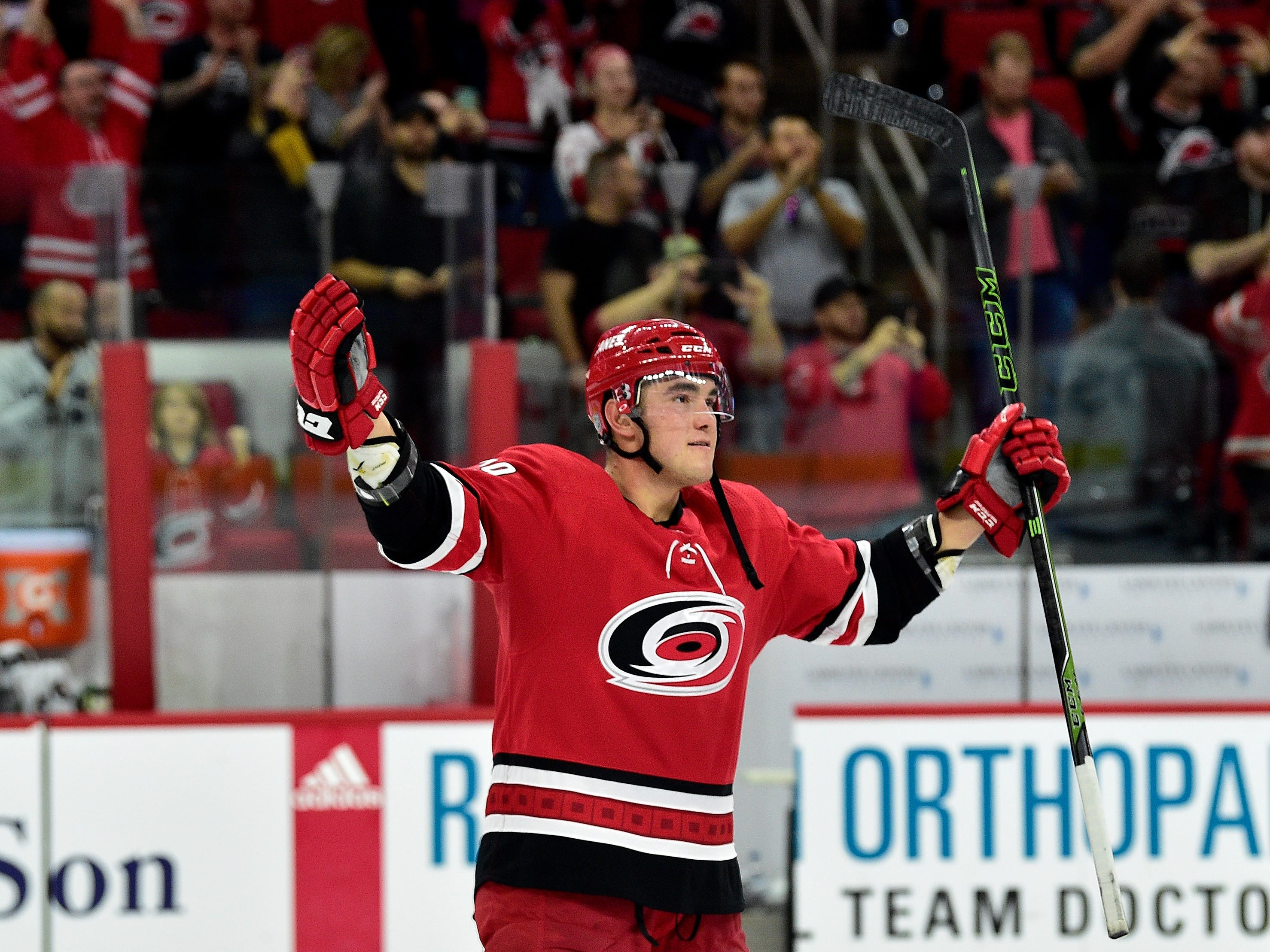 10. Micheal Ferland, LW, Carolina: The Hurricanes are in the playoff hunt and Ferland supplies a physical presence they don't have much of. A lot of teams would like to add him for the playoff push.