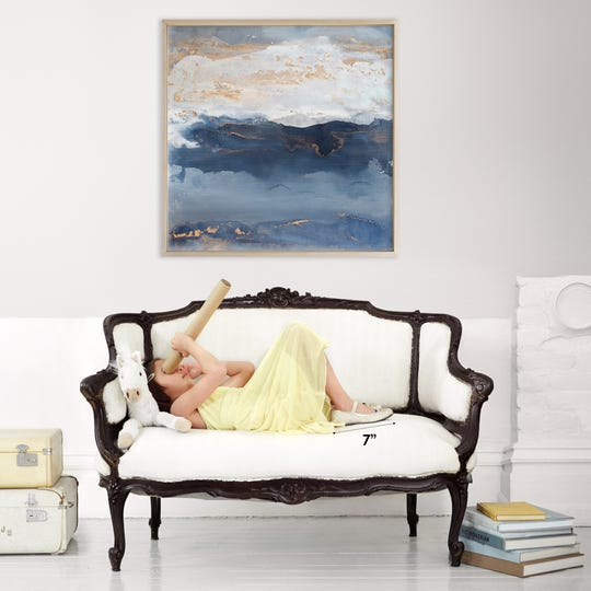 Art adds visual interest to any area of the home.