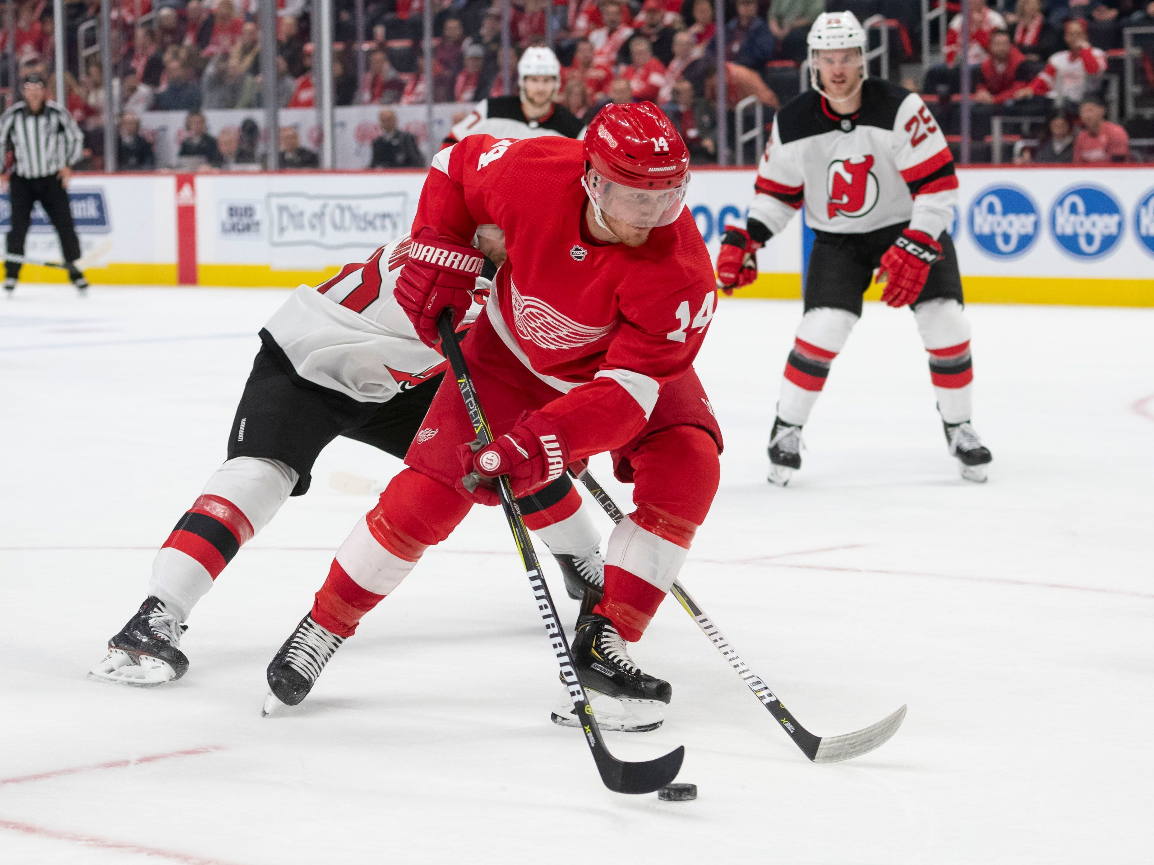 8. Gustav Nyquist, RW, Detroit: It'll be interesting to see how many teams come calling on Nyquist, who is having a career year. The Wings may work to re-sign him for their veteran core going forward.