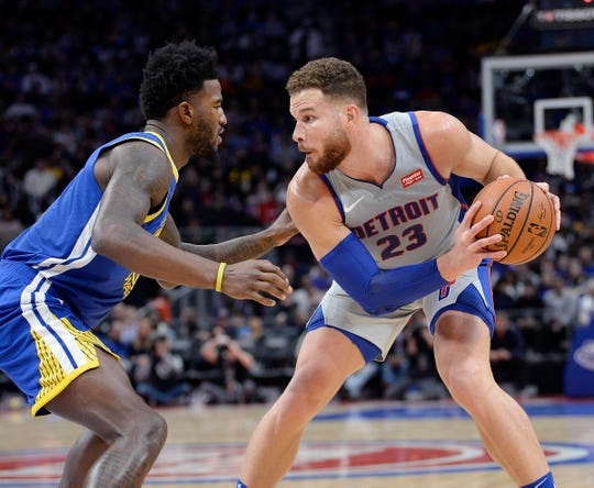 Blake Griffin has wasted little time in becoming the heart and soul of the Pistons.