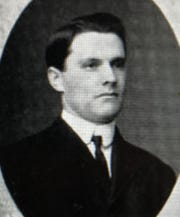 W.O. Bohannon as a college student