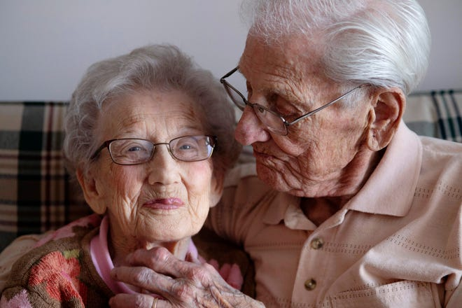 Connie and Howard Norlin of Evansville have been married 75 years ago today. The couple got married Feb. 17, 1944... the same day as Howard's 21st birthday.