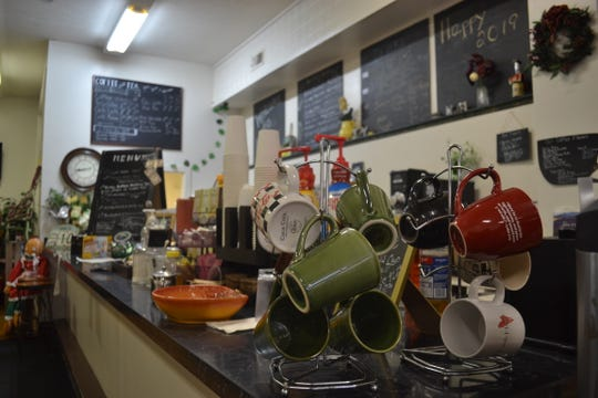 Although Main Street Café offers a variety of specialty coffees, it is more restaurant than coffee shop. The shop's menu highlights dishes owner Beth Powers learned to cook during her 17 years in Europe.