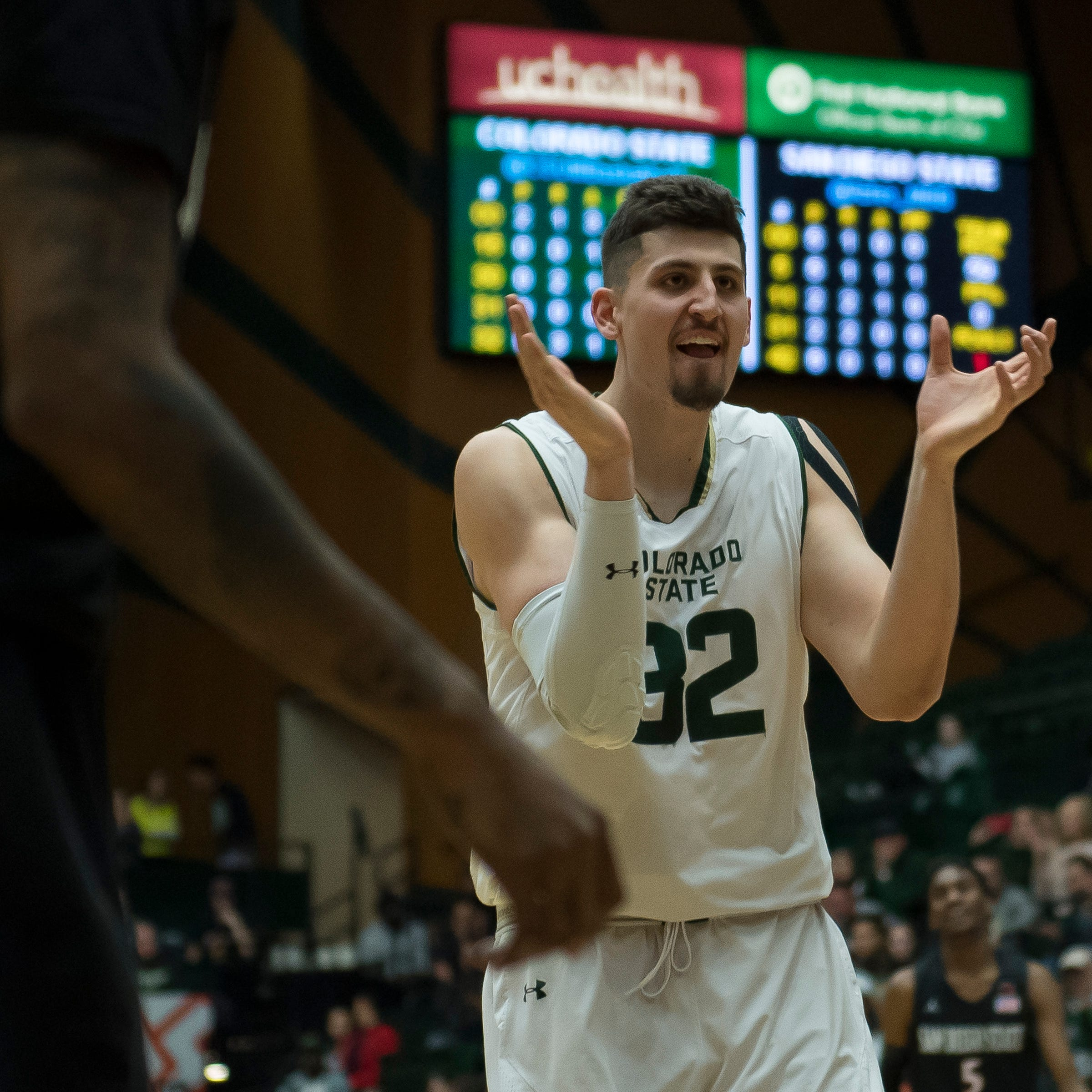 Nico Carvacho breaks Colorado State basketball's career rebounding record