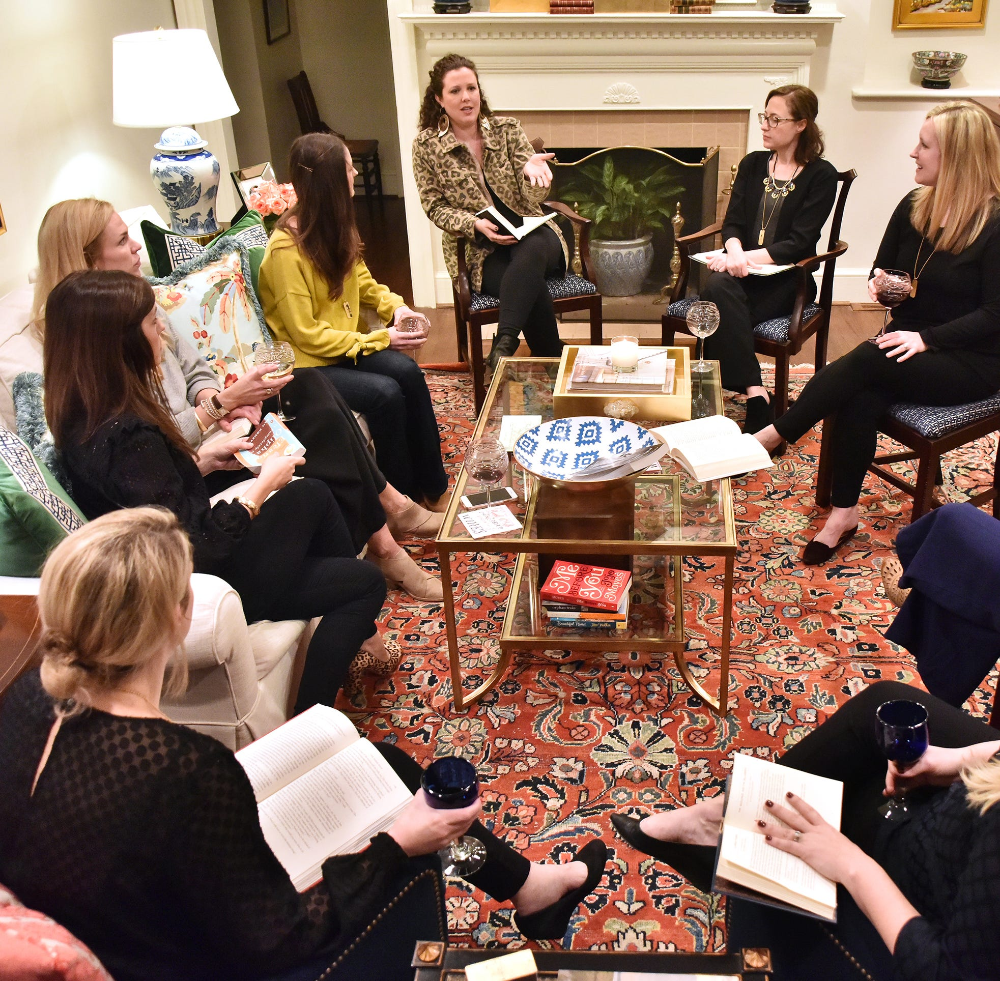 Yes, you can start a book club!