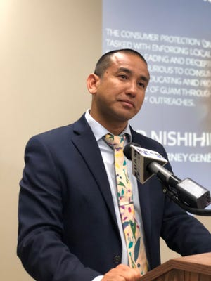 Leevin Camacho, Guam's attorney general, has joined 31 attorneys general to urge the Senate to provide relief for all federal student loan borrowers impacted by the COVID-19 pandemic.