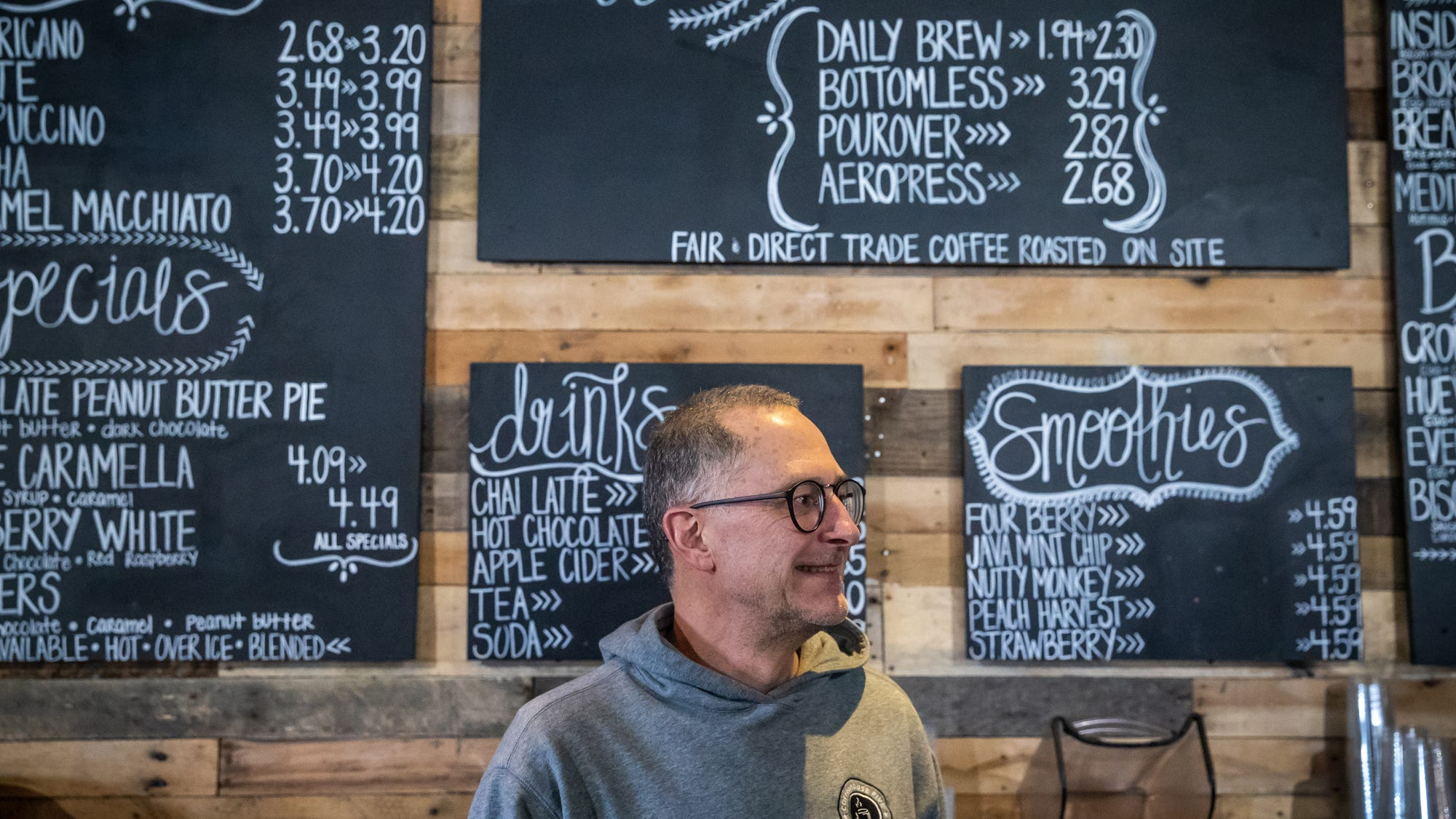 Greenwood coffeeshop owner 'encouraged' by downtown revitalization