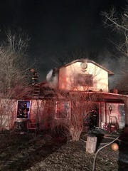 A man died Wednesday in a house fire in the 2800 block of Newhart Street.