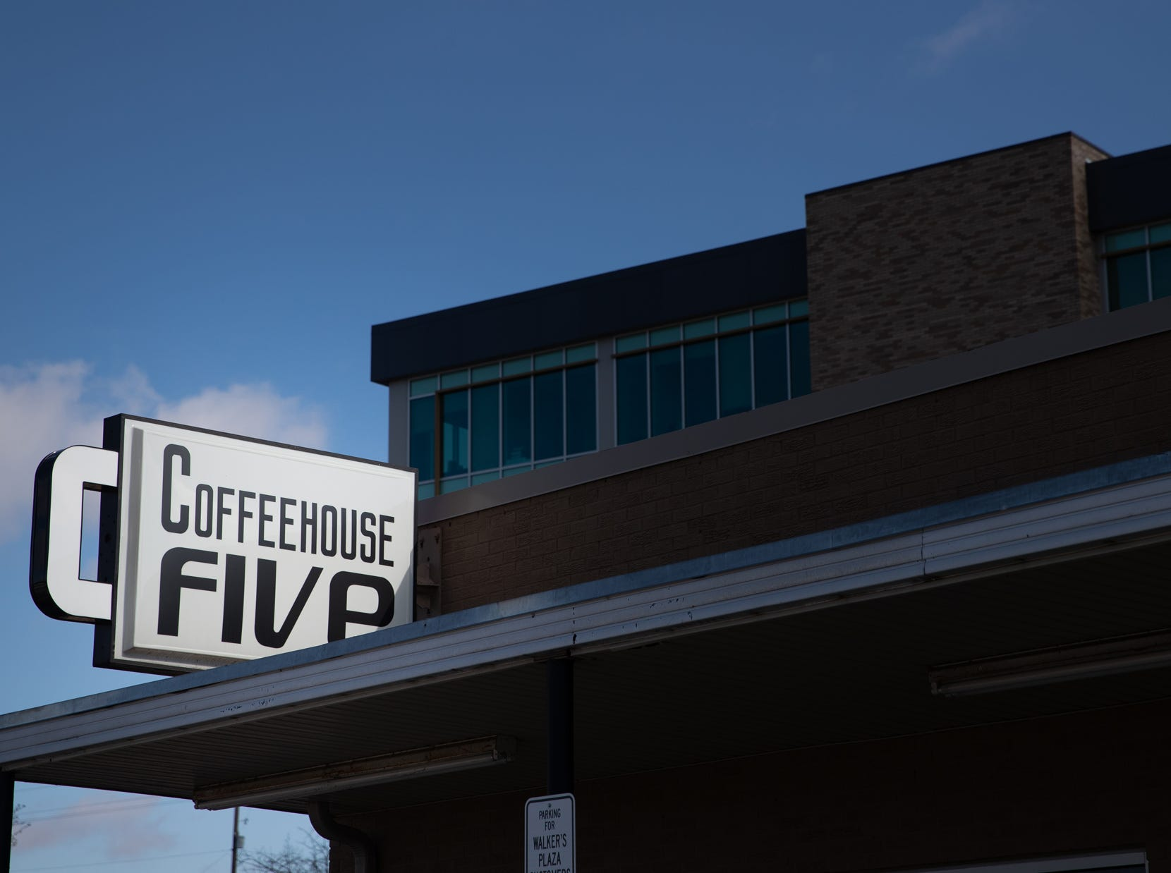 Coffeehouse Five, located on Market Street in Greenwood, Ind. on Wednesday, Feb. 13, 2019.