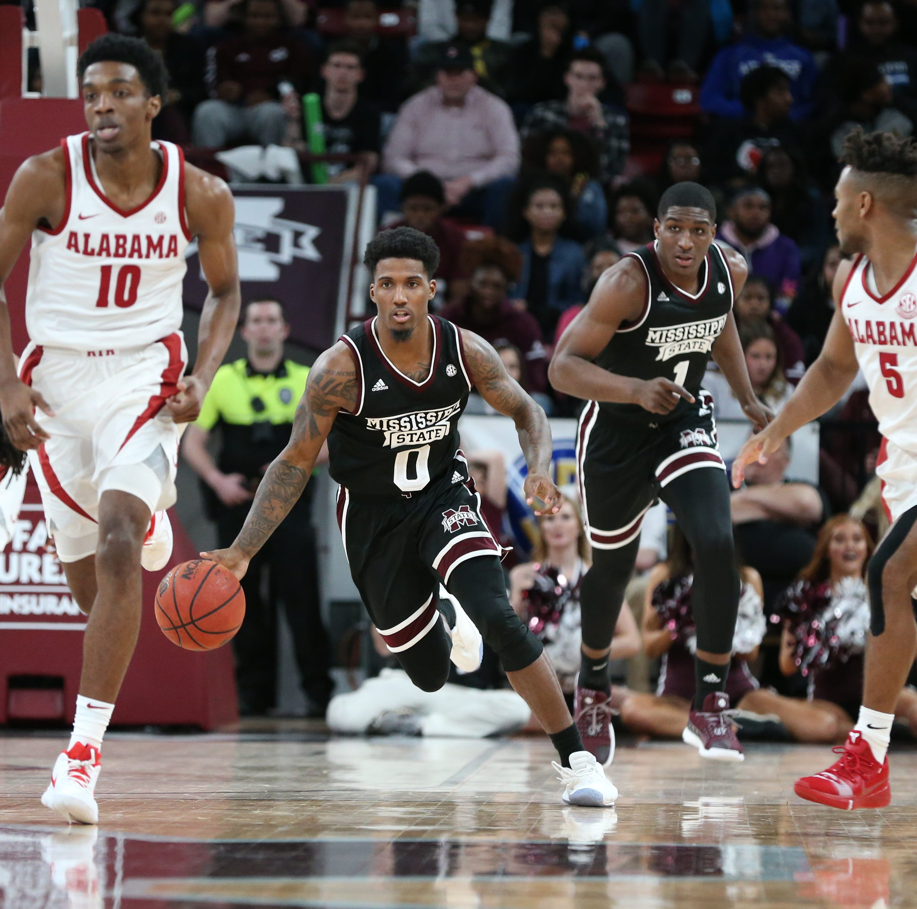 Mississippi State's Nick Weatherspoon suspended indefinitely