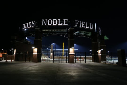 The newly-renovated Dudy Noble Field is the site of this weekend's Starkville Regional. Record-setting crowds could be on hand.