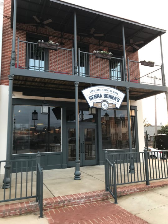 Genna Benna's restaurant is located in downtown Brandon, across from the Rankin County Courthouse.